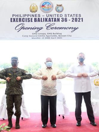 AFP, U.S. Military Hold Balikatan Exercise Under Strict Health Protocol