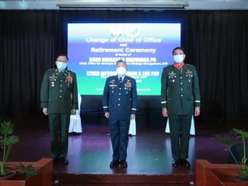 BGen Madriaga retires, Col Palma assumes as OSSSM