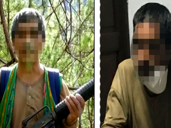 High ranking personality of ICRC of CPP-NPA surrenders to AFP-PNP in Bontoc, Mountain Province