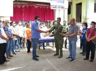"""24IB participates in launching Abra PRLEC's """"Pangkabuhayan sa Barangay"""""""