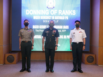 Deputy Chief for Civil Military Operations, Provost Marshal General don higher ranks