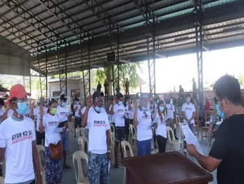 42 UGMO members withdraw support from CTGs in San Jose, Tarlac