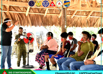 Training for Former Rebels in partnership with TESDA-Isabela formally opens