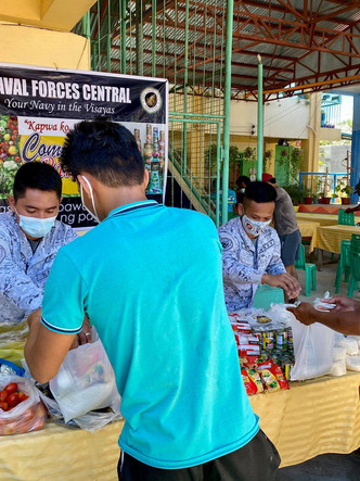 Navy participates in Peace Dialogue with Fisherfolks at Cordova, Cebu