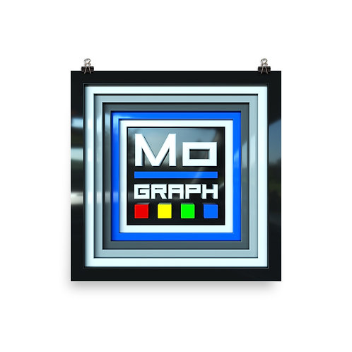 """""""MOGRAPH FOR SALE"""" Premium Luster Photo Paper Poster"""