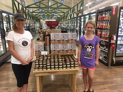 Brandy's Soy Candles at Lowes Foods