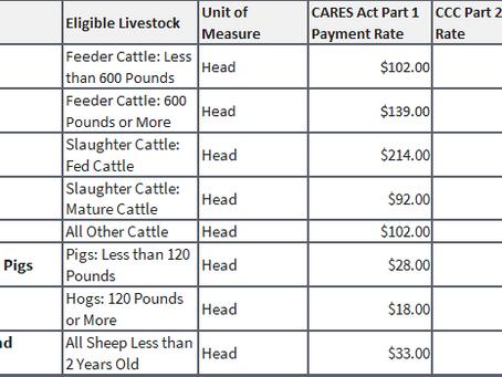USDA Announces Details of Coronavirus Food Assistance Program (CFAP) Details