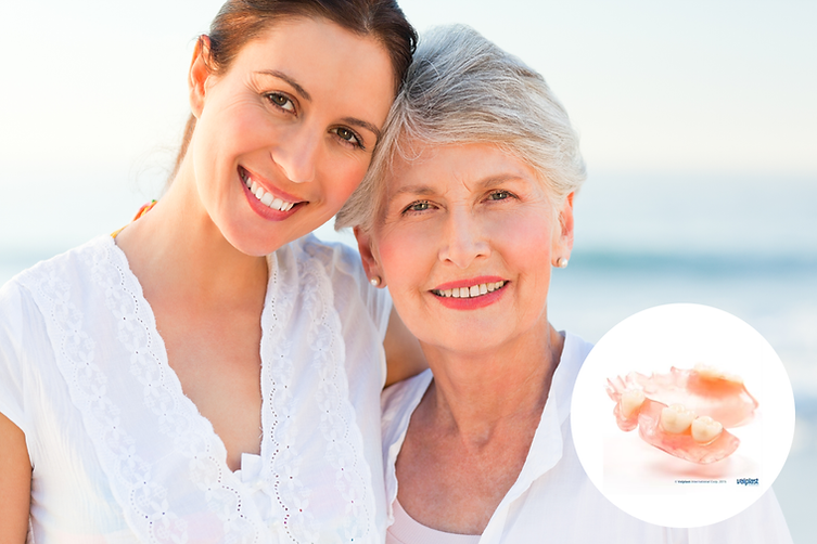 Valplast flexible partial dentures by Cyberdent are an ideal choice for patients wanting a restoration that is highly aesthetic and durable.