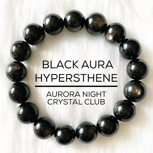 Black Aura Hypersthene
