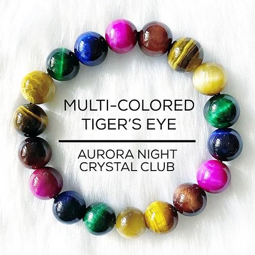 Multi-colored Tiger's Eye
