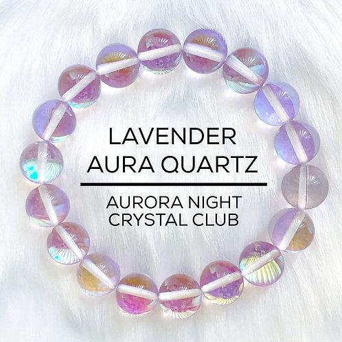 Lavender Aura Quartz