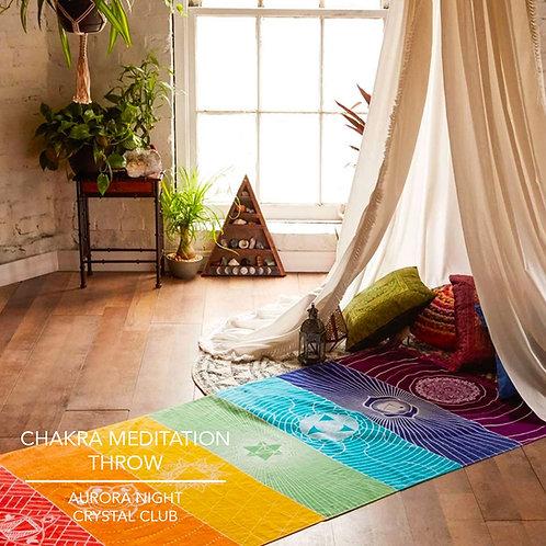 Chakra Meditation Throw
