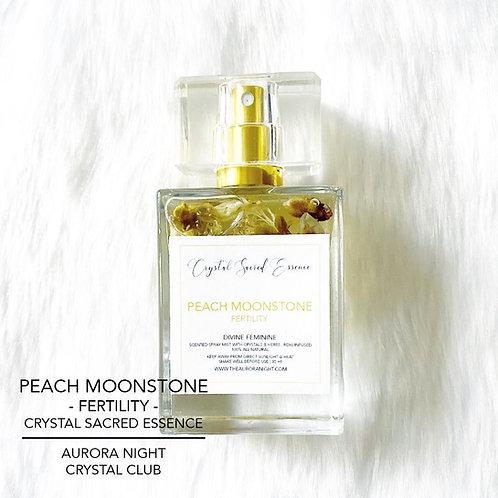 Peach Moonstone Crystal Sacred Essence