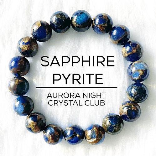 Sapphire Pyrite