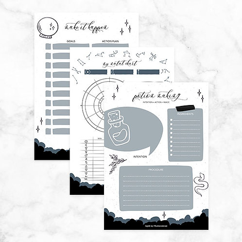 Divination Journal Template