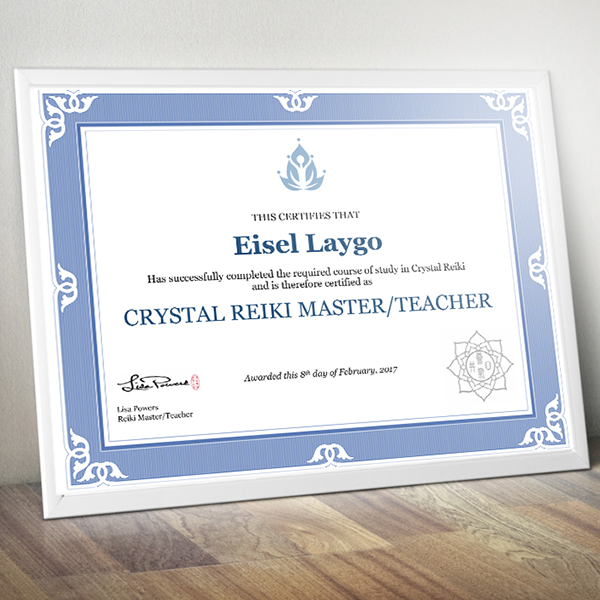 Crystal Reiki Master / Teacher Cert
