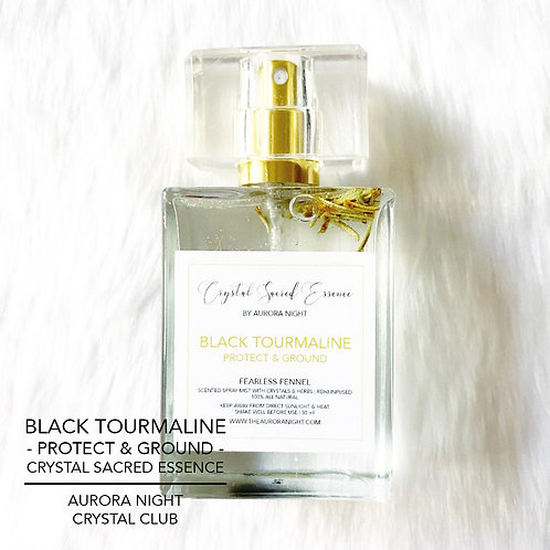 Black Tourmaline Crystal Sacred Essence