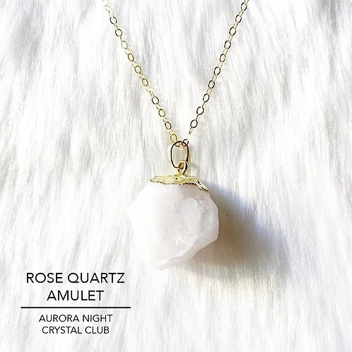 Rose Quartz Amulet