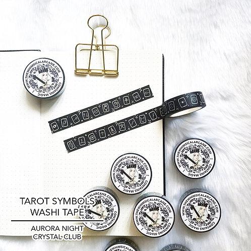 Tarot Symbols Washi Tape