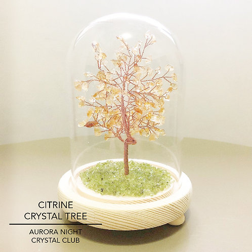 Citrine Crystal Tree