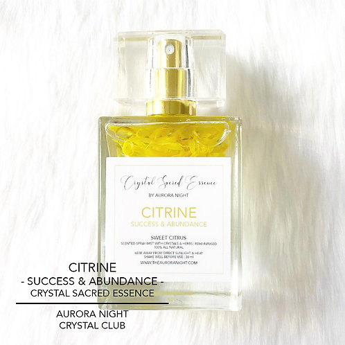 Citrine Crystal Sacred Essence