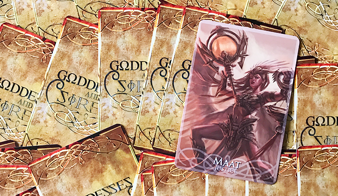 Review: Goddesses And Sirens Oracle Deck