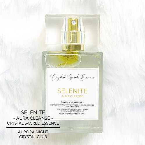 Selenite Crystal Sacred Essence