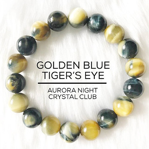 Golden Blue Tiger's Eye