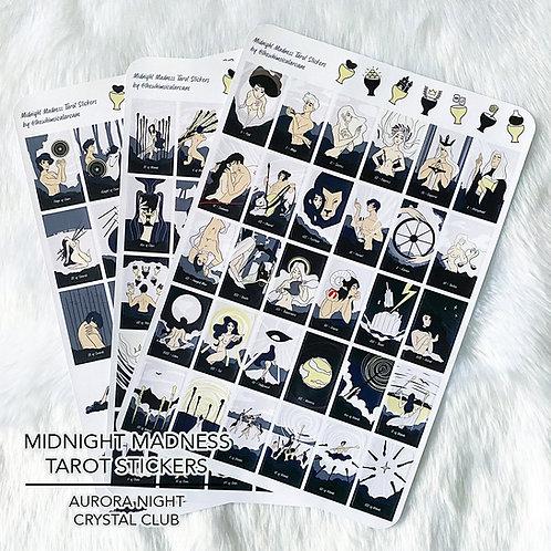 Midnight Madness Tarot Stickers