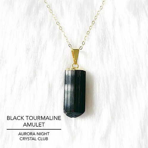 Black Tourmaline Amulet