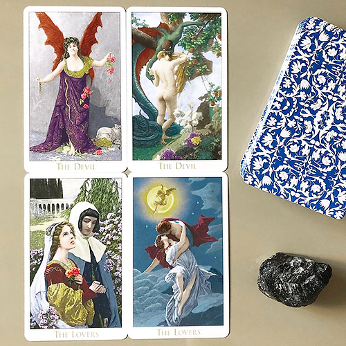 Review: Victorian Romantic Tarot