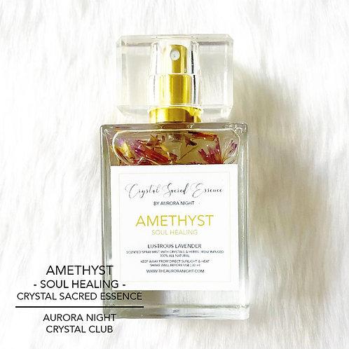 Amethyst Crystal Sacred Essence