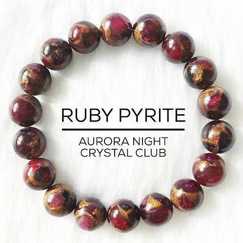 Ruby Pyrite