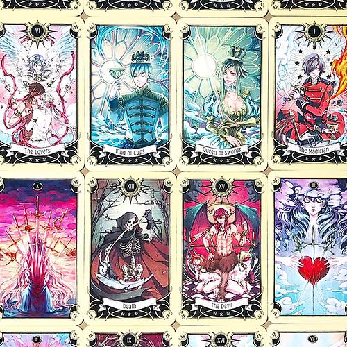 REVIEW: Mystical Manga Tarot