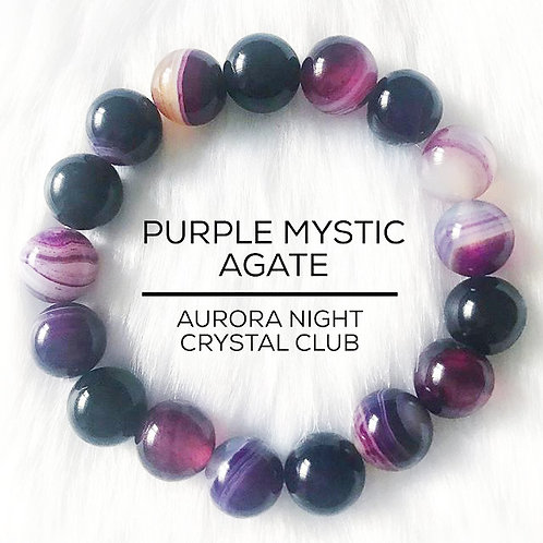 Purple Mystic Agate