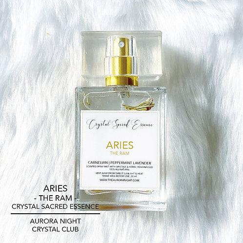 Aries Crystal Sacred Essence