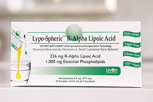 Lypo-Spheric R-Alpha Lipoic Acid