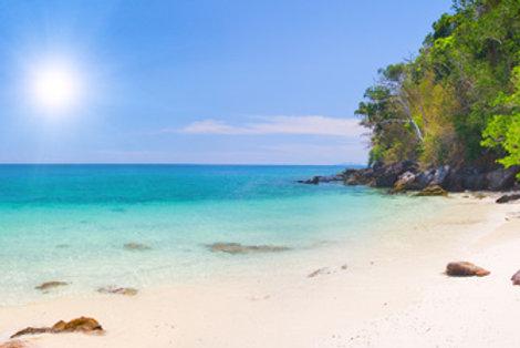 Unbekannte paradiesische Inseln in Südthailand