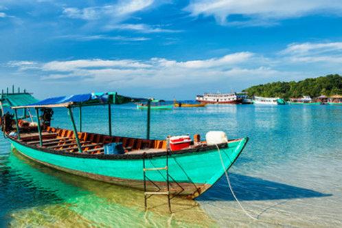 Badeverlängerung Sihanoukville - im Golf von Thailand