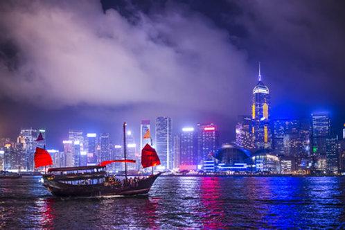 Hong Kong - Dinner Cruise und Night Market - englisch