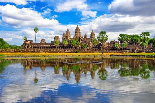 Das Weltkulturerbe Angekor Wat