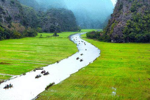 Hanoi, Ninh Binh & Kreuzfahrt mit Dschunke durch Ha Long Bay