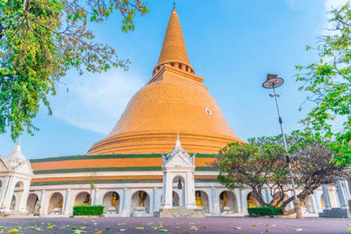 Schwimmender Markt – Nakhon Pathom - Rosengarten