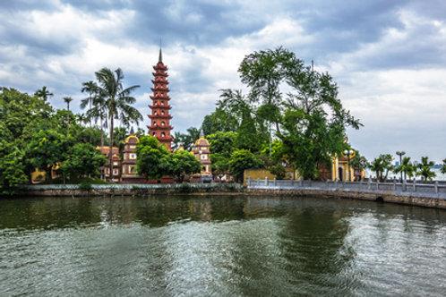 """HANOI - die Hauptstadt am """"Roten Fluß"""""""