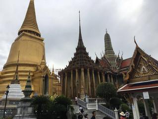 Touristische Stadtrundfahrt in Bangkok
