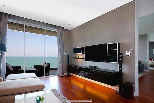 Luxuriöse Eigentumswohnung mit Meerblick