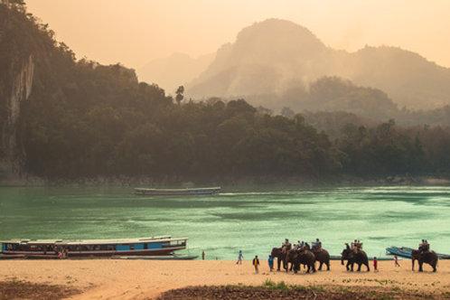 Von Luang Pabang nach Vientiane