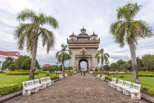 Vientiane und das Landschaftsparadies Vang Vieng