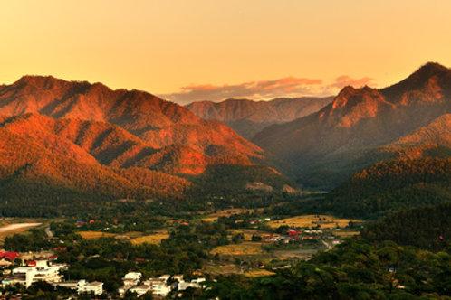 Das Tal von Mae Hong Son