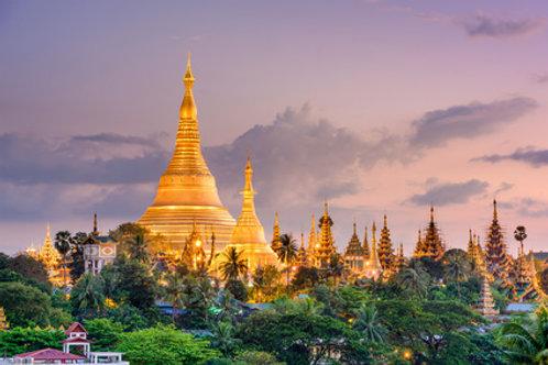 Yangon - die Gartenstadt mit der schönsten Pagode der Welt